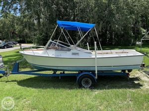 Used Shamrock 20 Walk Through Walkaround Fishing Boat For Sale