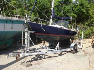 Used Cape Dory Typhoon Weekender Racer and Cruiser Sailboat For Sale
