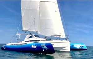 Used Dragonfly 28 Performance Racer and Cruiser Sailboat For Sale