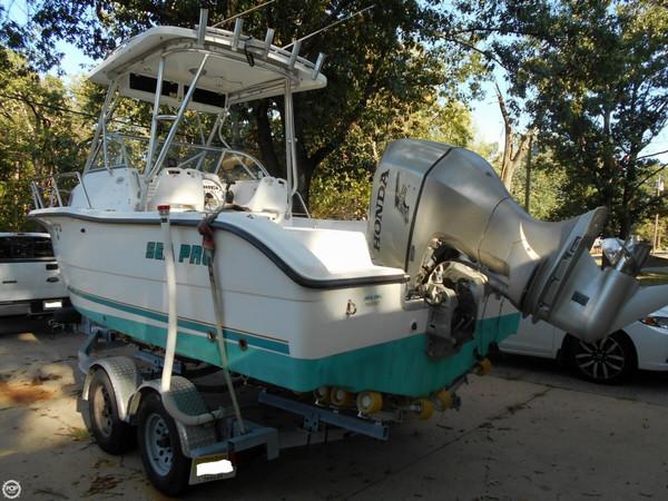 Used Sea Pro 220 WA Walkaround Fishing Boat For Sale