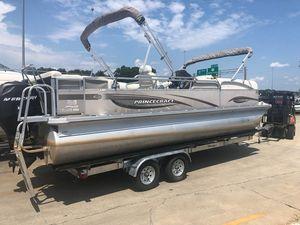 Used Princecraft Pontoon Boat For Sale