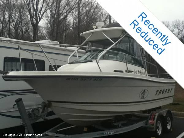 Used Bayliner 2002 DX Trophy Walkaround Fishing Boat For Sale