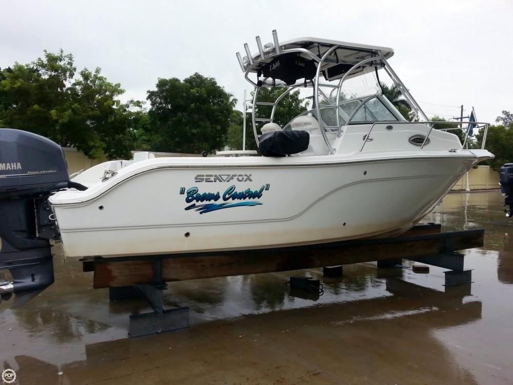 2012 used sea fox 236 wa pro series walkaround fishing for Used fishing boats for sale in florida