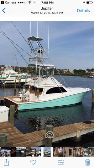 Used Topaz Convertible Fishing Boat For Sale