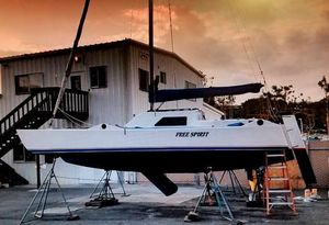 Used Trimaran Custom 25 Trimaran Sailboat For Sale