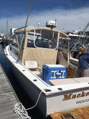 Used Fortier 30 Downeast Fishing Boat For Sale