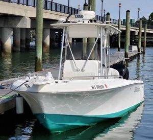 Used Bluefin 250 Pro Fish Center Console Fishing Boat For Sale