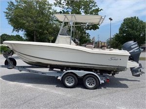 Used Scout 210 Sportfish Center Console Fishing Boat For Sale