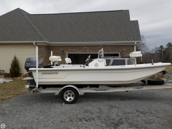 Used Sundance F19 Center Console Skiff Fishing Boat For Sale