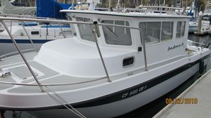 Used Davis 25' Rock Harbor LC Sports Fishing Boat For Sale