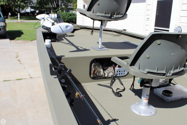 Used Tracker 1754 Grizzly Aluminum Fishing Boat For Sale