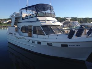 Used Chb 42 Sundeck Trawler Boat For Sale