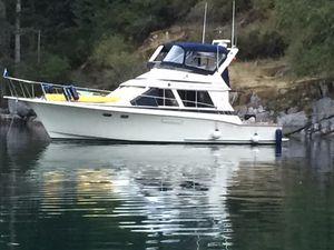 Used Tollycraft 40 Sport Sedan Sports Fishing Boat For Sale