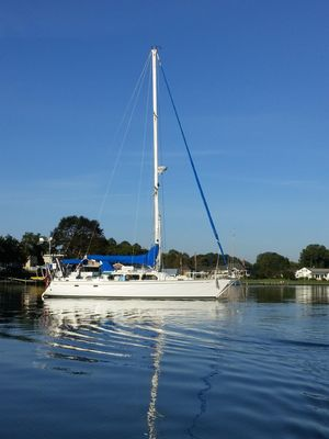 Used Cal 44 Sloop Sailboat For Sale