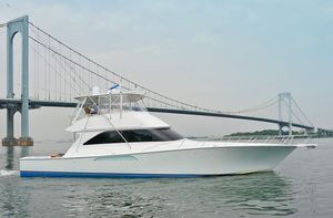 Used Viking 56 Convertible With Mezzanine Sports Fishing Boat For Sale