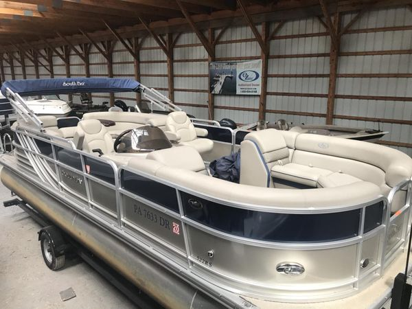 Used South Bay 500 Series 522RS Pontoon Boat For Sale