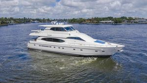 Used Monte Fino Widebody Skylounge Motor Yacht For Sale
