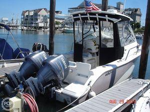 Used Sea Fox 256WA Voyager Walkaround Fishing Boat For Sale