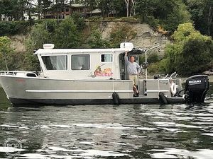 Used Lee Shore Swiftsure 31 Custom Pilothouse Boat For Sale