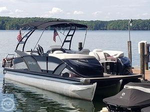 Used Aqua Patio 250XP Pontoon Boat For Sale