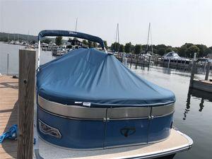 Used Tahoe Cascade Quad Lounger 23Cascade Quad Lounger 23 Pontoon Boat For Sale