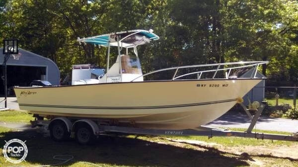 Used Key Largo 236 Walk In Center Console Fishing Boat For Sale