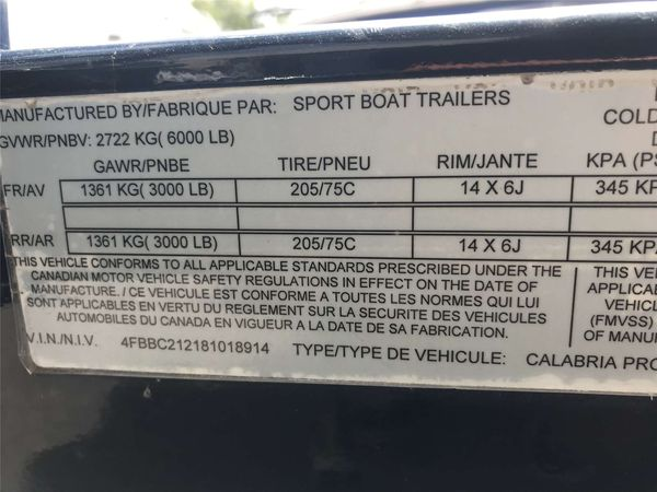 Used Calabria Cal-Air Pro VCal-Air Pro V Ski and Wakeboard Boat For Sale