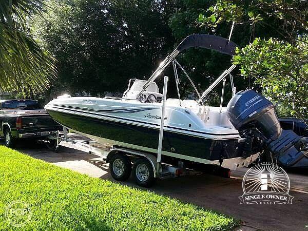 Used Hurricane 211 SunDeck Sport Deck Boat For Sale