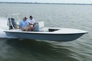 Used Maverick Boat Co. 18 HPX-V18 HPX-V Skiff Boat For Sale