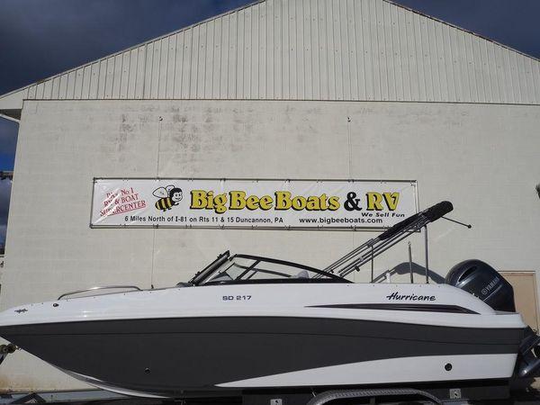 New Hurricane SD 217 OBSD 217 OB Bowrider Boat For Sale