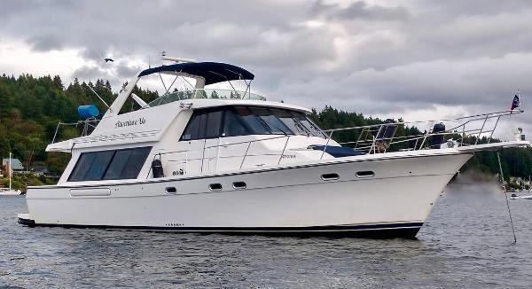 Used Bayliner 4788 Flybridge Boat For Sale