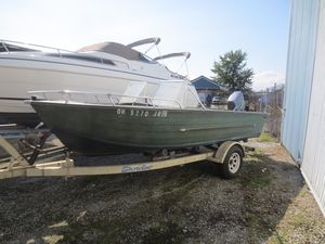 Used Starcraft 16 SF DLX16 SF DLX Freshwater Fishing Boat For Sale