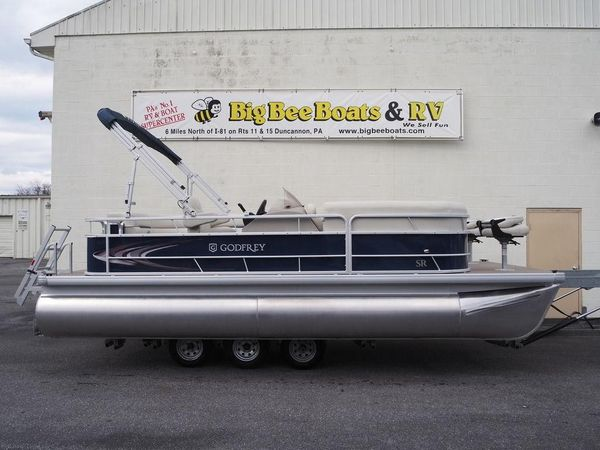 New Godfrey Sweetwater Sunrise 206 BFSweetwater Sunrise 206 BF Pontoon Boat For Sale