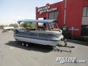 Used Regency 220 DL3220 DL3 Pontoon Boat For Sale