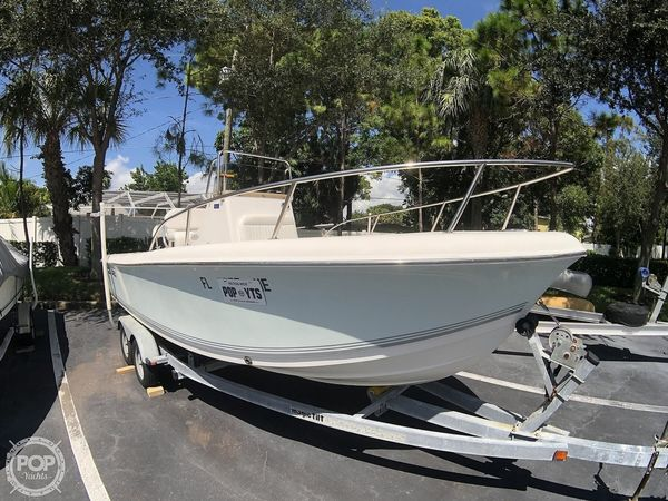 Used Sea Pro 196 Center Console Fishing Boat For Sale