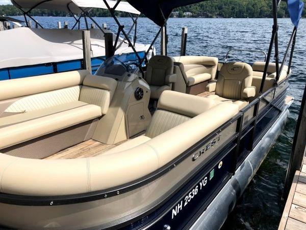 Used Crest II 230SLCCrest II 230SLC Pontoon Boat For Sale