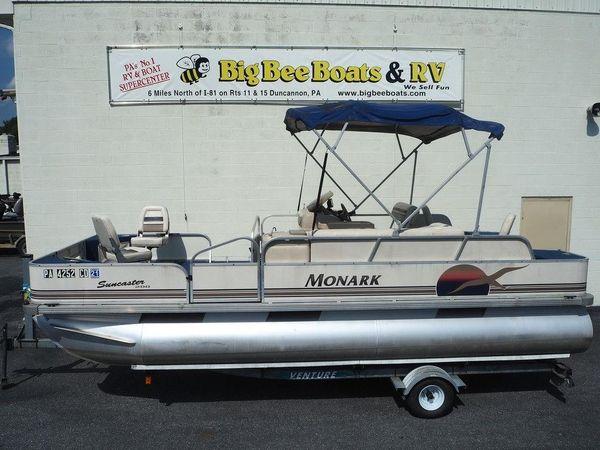 Used Monark SC200SC200 Pontoon Boat For Sale