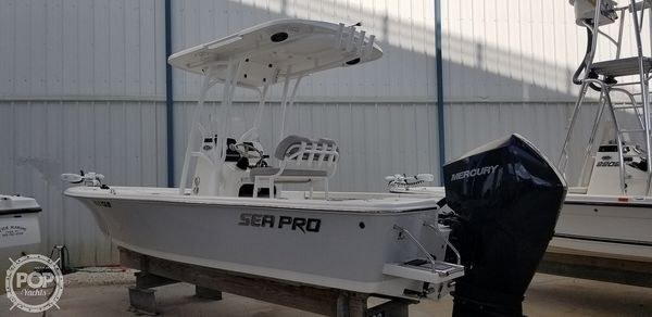 Used Sea Pro 228 Center Console Fishing Boat For Sale