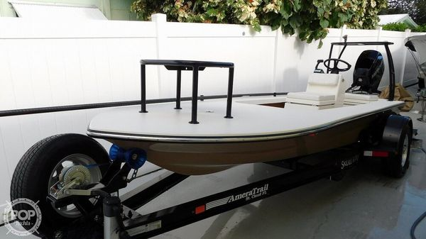 Used Custom Skull Island Skiff Fishing Boat For Sale