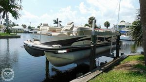 Used Sun Tracker 22 Party Barge Regency Edition Pontoon Boat For Sale