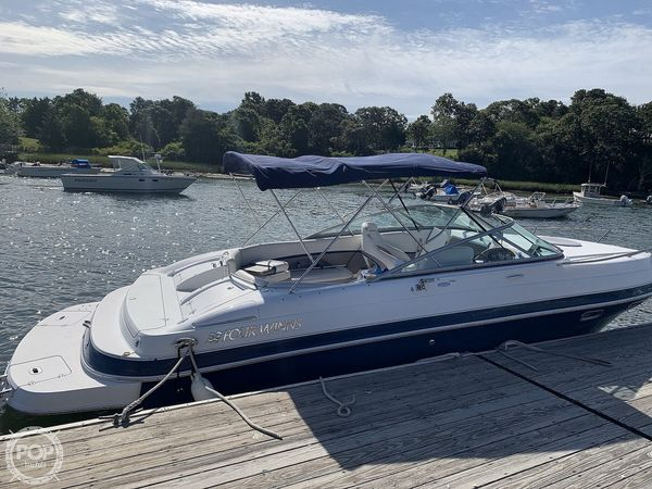 Used Four Winns 245 Sundowner Walkaround Fishing Boat For Sale