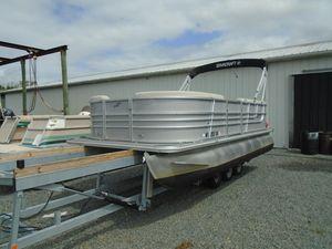Used Starcraft EX 18 CEX 18 C Pontoon Boat For Sale