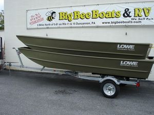 New Lowe 1648 AMT Aura1648 AMT Aura Jon Boat For Sale