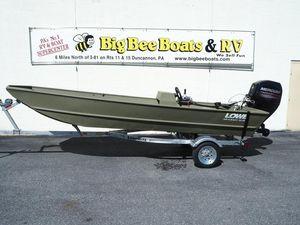 New Lowe 1648 AMT Aura SC1648 AMT Aura SC Jon Boat For Sale