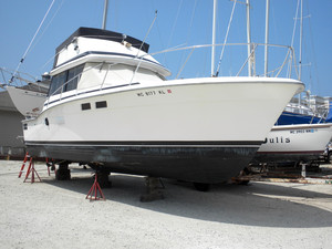 Used Trojan F32 Convertible Fishing Boat For Sale
