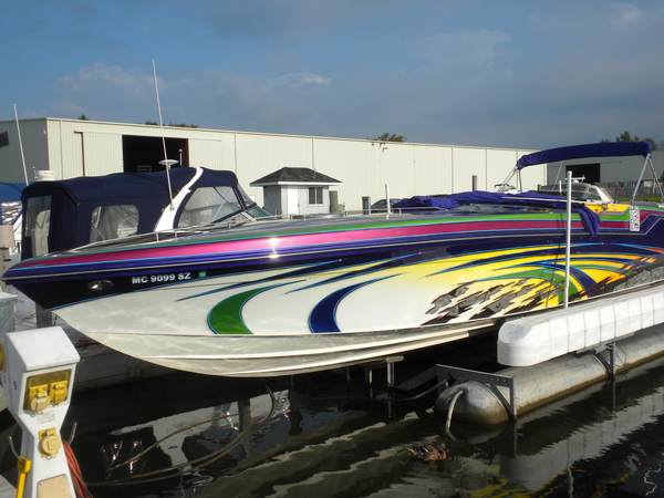 Used Axiom 42 High Performance Boat For Sale