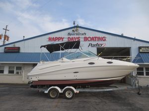 Used Sea Ray 240 SD240 SD Aft Cabin Boat For Sale