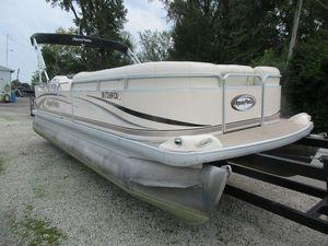 Used Aqua Patio 220 RE220 RE Pontoon Boat For Sale