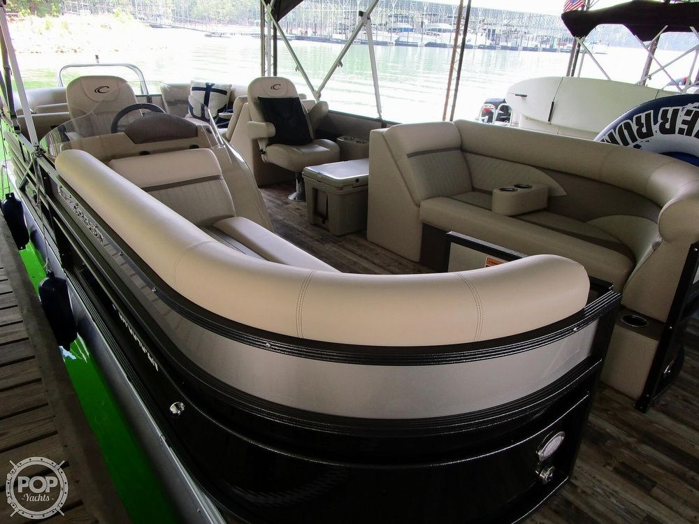 2018 Used Crest Ii 230 Pontoon Boat For Sale 44000