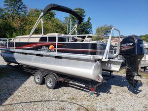 Used Sun Tracker Fishin Barge 24 DLXFishin Barge 24 DLX Pontoon Boat For Sale